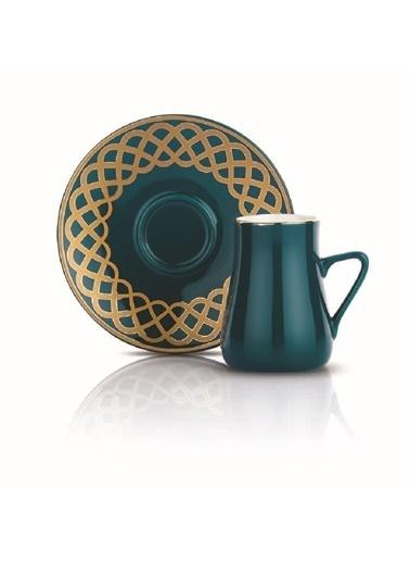 Schafer 6 Lı Getra Kahve Fincan Tak.-YSL-02091 Yeşil